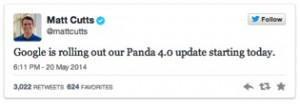 Google Panda Announcement
