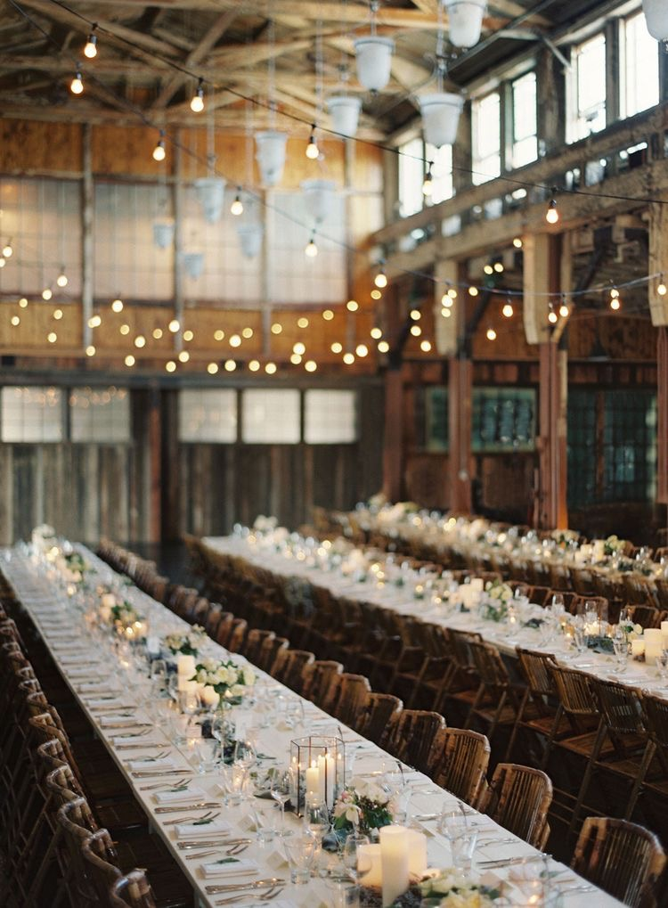 warehouse wedding decor the roots of industrial chic industrial marketer 8365